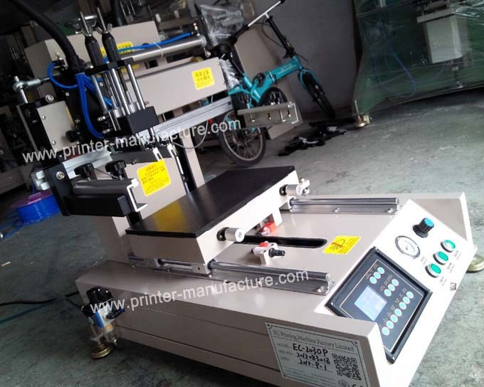 Mini Flat Screen Printer with Sliding Table