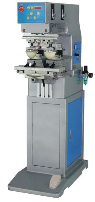 Single Color Two Heads Pad Printing Machine